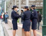 Greek policewomen