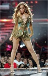 Beyonce' is among some special young performers today who have the class and professionalism to wear pantyhose on stage.