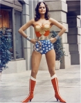 Lynda Carter is Wonder Woman