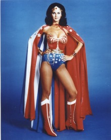 Lynda Carter played perhaps the most iconic of female superheroes, Wonder Woman.
