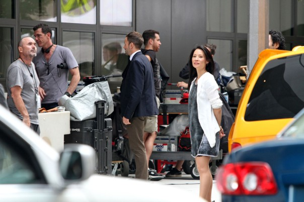 "Lucy Liu as Dr. Joan Watson appears in a scene of ""Elementary"" in London."