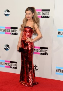 Singer Ariana Grande was the most elegantly dressed artist at the American Music Awards.