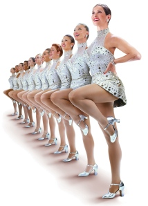The Radio City Rockettes are the epitome of class and glamour when it comes to performing at high-profile events.  And what are the Rockettes most famous for?  Their legs adorned in sheer nude pantyhose.
