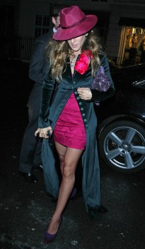 Actress Sarah Jessica Parker arrives for a special ceremony hosted by ActSensuous last month.