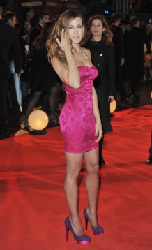 """Sarah Jessica Parker attends the gala premiere Of """"Did You Hear About The Morgans?"""" at the Odeon Leicester Square on December 08, 2009 in London, England. Gala Premiere Of """"Did You Hear About The Morgans?"""" - Inside Arrivals Odeon Leicester Square London, England United Kingdom December 8, 2009 Photo by Jon Furniss/WireImage.com To license this image (59097942), contact WireImage.com"""