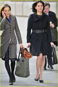 SJP and Olivia Munn during a scene from the 2011 movie,