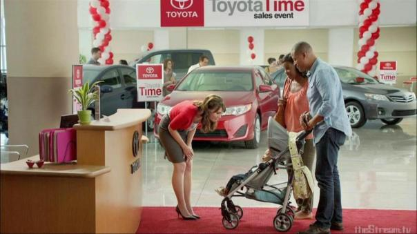 Jan in Toyota TV commercials